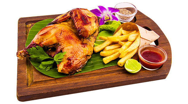 Grilled Half Chicken